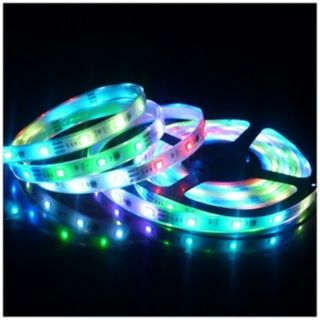 Color 16.4 Foot LED Tape Light Kit with Remote Control   #Y5582
