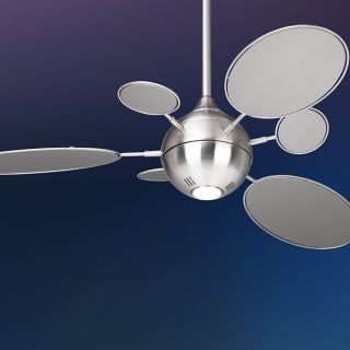 "54"" Minka Aire Cirque Brushed Nickel Ceiling Fan   #95967"