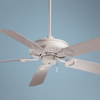"54"" Minka Aire White Outdoor ENERGY STAR Ceiling Fan   #04151"