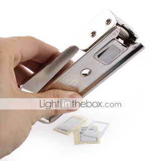 Micro Sim Card Cutter with Micro Sim Card Adapters for iPhone 4 & iPad