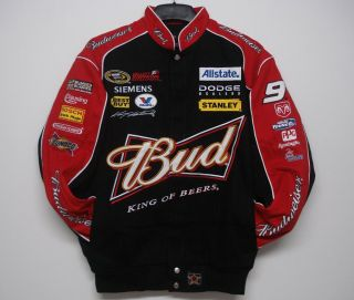NASCAR Sprint Kasey Kahne Bud Black Cotton Jacket XXXL