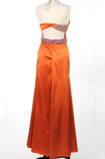 New Nika Niki Kapoor Womens WOW Prom Dress in Orange US Size 8