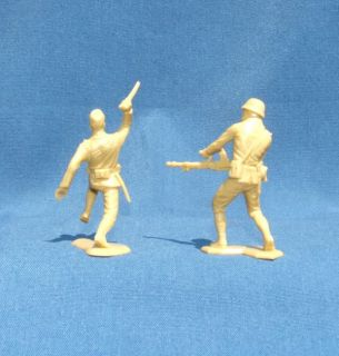 1963 Vintage Marx Japanese WWII World War 2 Toy Soldiers 3