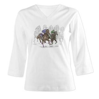Thoroughbred Horse Race  Horse Lover & Dog Lover Gifts by Kelli Swan