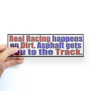Dirt Track Race Car Stickers  Car Bumper Stickers, Decals