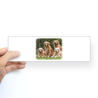 Golden Retriever 9Y180D 149 Bumper Sticker for $4.25