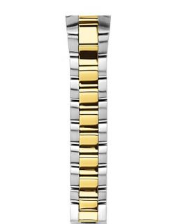 Philip Stein Two Tone Gold Plated Bracelet Watch Strap, 22mm