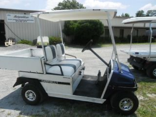 Carryall II Gas Golf Cart Car Dump Bed Kawasaki Utility Vehicle