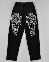 New Keith Haring Graphic Print sweat Pants Black Cotton s M L BIGBANG
