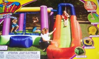 Bounce Slide w Water Splash Pool Inflate Bounce House