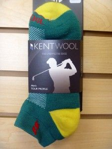 Kentwool Mens Tour Profile Golf Socks LARGE Augusta Commerative LTD