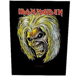 Iron Maiden Eddie Killers Head Official Back Patch Heavy Metal New
