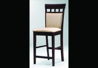 Kitchen Barstool Wood Counter Upholstered Bar Stools