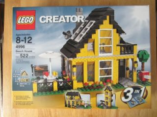 New Factory SEALED Lego Creator 4996 Beach House