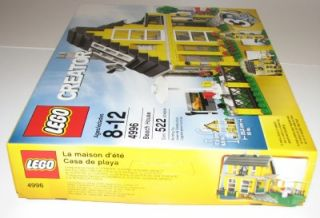 Lego Beach House 4996 New in SEALED Box