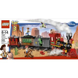 Lego 7597 Toy Story Western Train Chase 589 Pcs Box Set