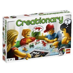 Creationary Game Lego 3844 New Factory SEALED