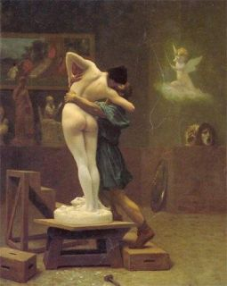 Pygmalion and Galatea Jean Leon Gerome Repro Oil Paint