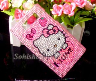 Cute Hello Kitty Bling Crystal Hard Case Cover for LG Optimus L7 P700