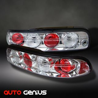 95 00 Lexus SC300 sc400 Chrome altezza Tail Lights Rear Brake Lamps