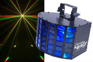 DJ SHOOTING STAR LED TRI COLOR LIGHTING DANCE FLOOR EFFECT BEAM LIGHT