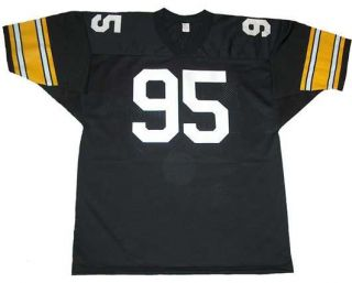 Greg Lloyd Signed Auto Pittsburgh Steelers Jersey