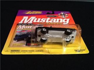 Johnny White Lightning Mustang Illustrated 1976 Ford Cobra 2 Low