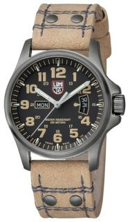 Luminox Atacama Field Beige Leather Mens Watch 1825