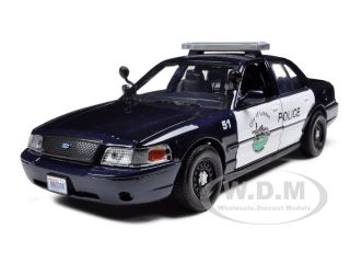 2007 Ford Crown Victoria Lynden Police Car 1 24