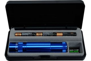 Mag Instrument Maglite XL 100 3 Cell AAA LED Flashlight Blue XL100