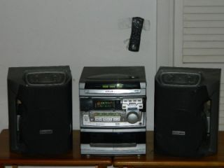 Philips Magnavox 3 CD Changer Compact Disc Digital Audio