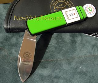 Franklin Mint Magnolia Gas Pump Collector Knife