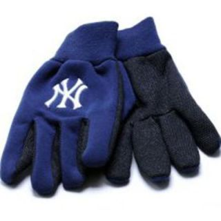 New York Yankees Baseball Pair of Licensed Work Gloves