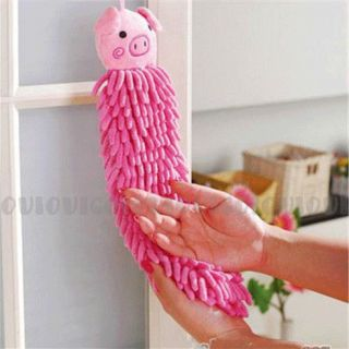 Micro Fiber Carton Cute Animal Towel for Bathroom Kitchen Office Car