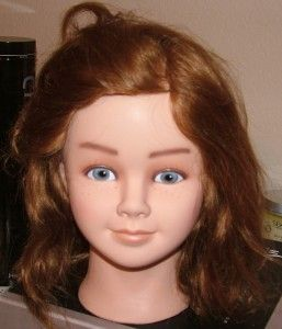 Professional Mannequin Little Girl Gilgi Real Hair