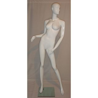 Mannequins High End Glossy White Fiber Glass SYW925