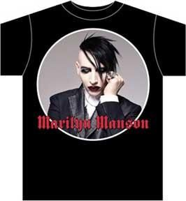 Marilyn Manson Against All Gods T Shirt L New