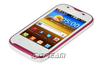 GSM Android Capacitive WiFi Smart Phone White at T Tmobile