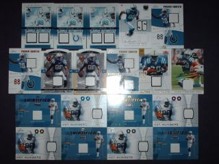 Marvin Harrison Masterpiece Jersey Auto Patch Card Lot