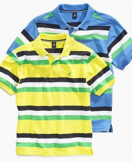 Nautica Kids Shirt, Boys Striped Pique Polo   Kids Boys 8 20
