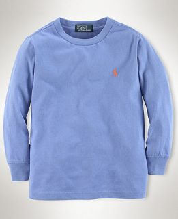 Ralph Lauren Kids Shirt, Boys Crewneck Shirt   Kids Boys 8 20