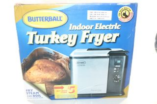 20010109 BUTTERBALL PROFESSIONAL SERIES INDOOR ELECTRIC TURKEY FRYER