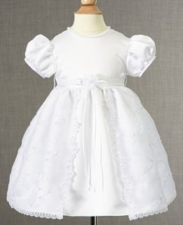 Lauren Madison Baby Dress, Baby Girls Soutache Christening Dress