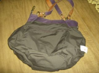 Lucky Brand Patchwork Diana Hobo Handbag Blues Purples