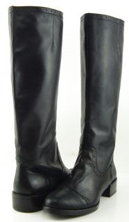 Maxstudio Bolivia Black Womens Designer Knee High Boots 10