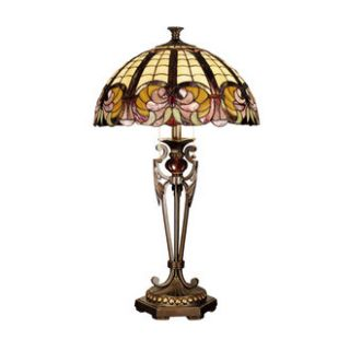 Antique Gold Sand 29 5 McKellar Table Lamp with 2 Lights