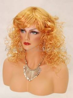 Mannequin Head Bust Wig Hat Jewelry Display Megan