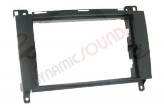 Mercedes Sprinter Viano Double DIN CD Fascia CT24MB16