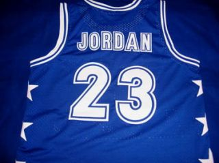 Michael Jordan McDonalds All American Jersey Blue All Sizes