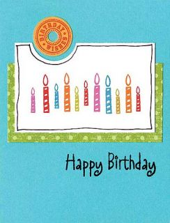 Hero Arts Clear Stamps Birthday Messages Cleardesign CL139